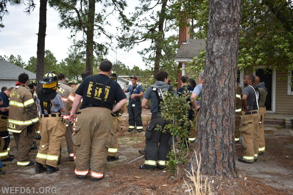 Safety brief and training scenarios explained
